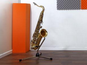 Bassovaimennin/ bassoansa matalien äänien vaimennukseen