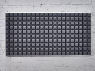 Modernia kennoprofiilia olevat ääniabsorbentit